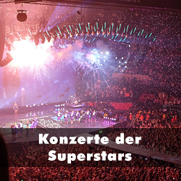 Ticketalarm: Konzerte der Superstars