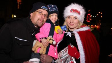 Weihnachtsengel in Mansfeld