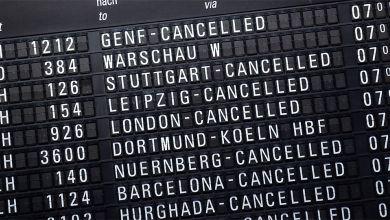 Warnstreik Flughafen