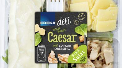 "EDEKA ""deli Caesar Snack"" Salat"