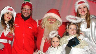 Holger Tapper, radio SAW Weihnachtsengel, Weihnachtsmann