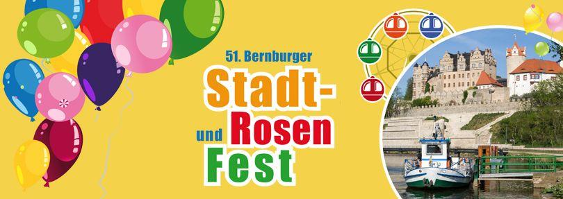 Stadt- und Rosenfest Bernburg