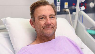 Neil Parker liegt im Princess Alexandra Hospital.