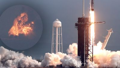 SpaceX-Rakete explodiert